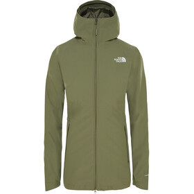The North Face Hikesteller Parka Shell Jacket Women four leaf clover